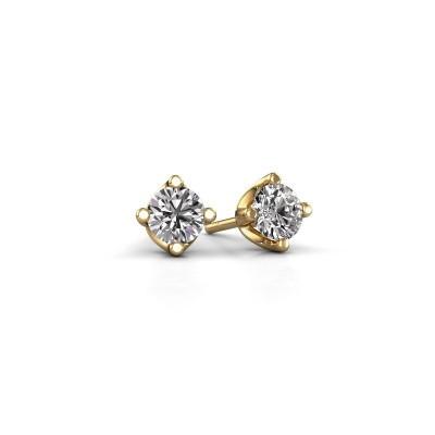 Foto van Oorknopjes Briana 375 goud diamant 0.40 crt