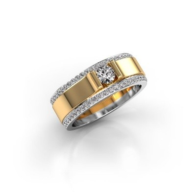 Foto van Herenring Danillo 585 goud lab-grown diamant 0.705 crt