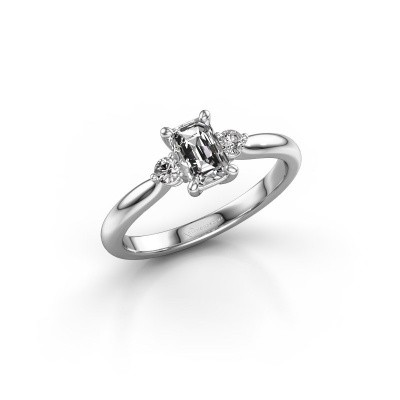 Picture of Engagement ring Lieselot EME 585 white gold diamond 0.76 crt