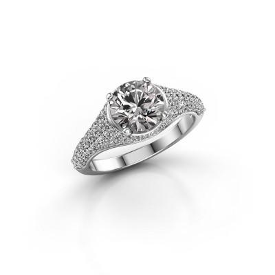 Foto van Ring Lovella 925 zilver lab-grown diamant 1.929 crt