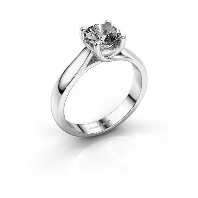Bague de fiançailles Mia 1 950 platine diamant 1.00 crt