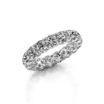 Bild von Ring Estee 4.0 585 Weißgold Lab-grown Diamant 4.00 crt
