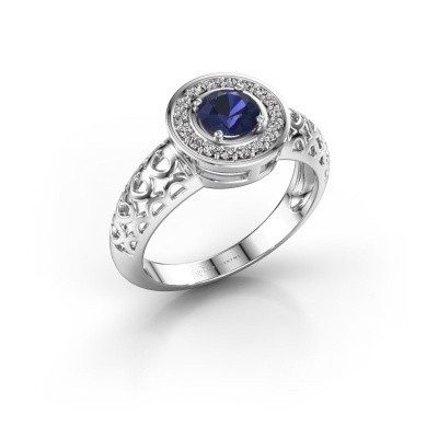 Picture of Ring Katalina 750 white gold sapphire 5 mm
