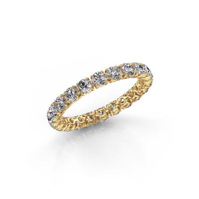 Foto van Ring Vivienne 2.7 585 goud zirkonia 2.7 mm
