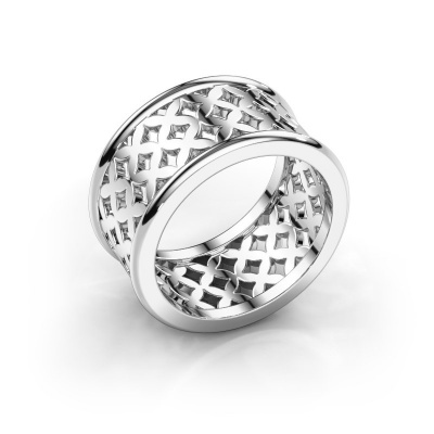 Ring Madelief 585 white gold