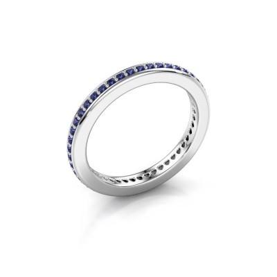 Vorsteckring Elvire 2 925 Silber Saphir 1.2 mm