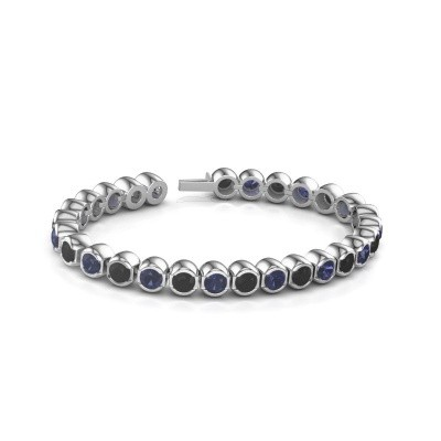 Picture of Tennis bracelet Delma 585 white gold sapphire 5 mm