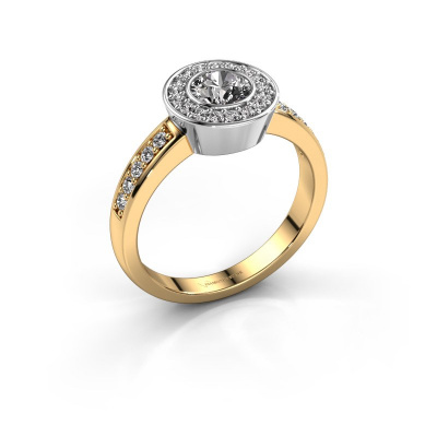 Ring Adriana 2 585 gold diamond 0.824 crt