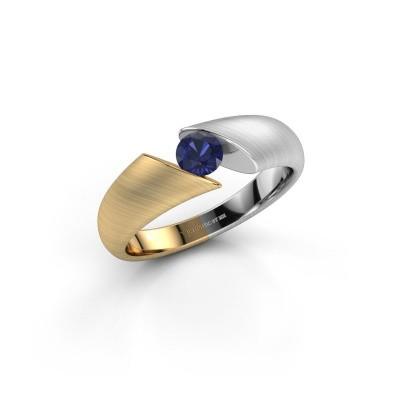 Foto van Ring Hojalien 1 585 goud saffier 4.2 mm