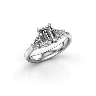 Foto van Verlovingsring Monika EME 925 zilver diamant 2.50 crt