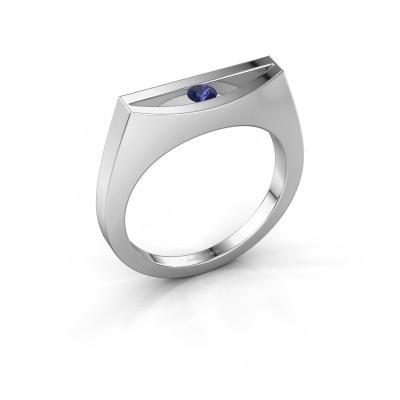 Ring Milou 585 Weißgold Saphir 3 mm