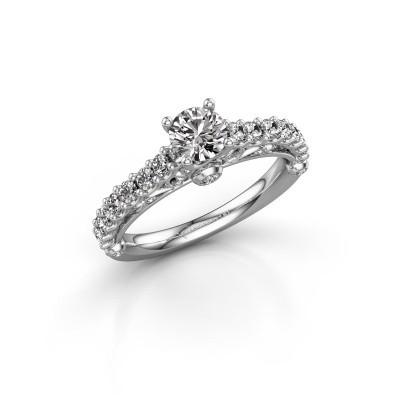 Picture of Engagement ring Shaunda 585 white gold diamond 1.00 crt