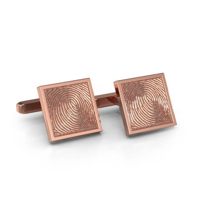 Cufflinks Tjeerd 375 rose gold