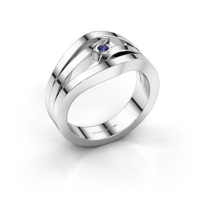 Ring Carlijn 925 Silber Saphir 2 mm
