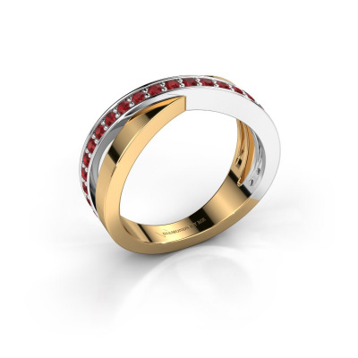 Picture of Ring Essie 585 gold ruby 1.5 mm