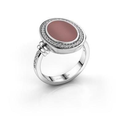 Foto van Heren ring Servie 3 925 zilver carneool 14x10 mm