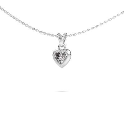 Bild von Anhänger Charlotte Heart 925 Silber Diamant 0.50 crt