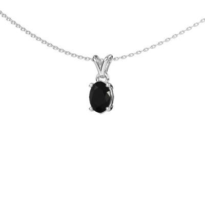 Bild von Kette Lucy 1 925 Silber Schwarz Diamant 0.96 crt