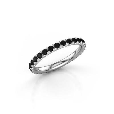 Foto van Aanschuifring Jackie 2.0 950 platina zwarte diamant 1.044 crt