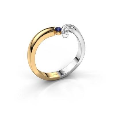 Ring Tish 585 goud saffier 2.2 mm