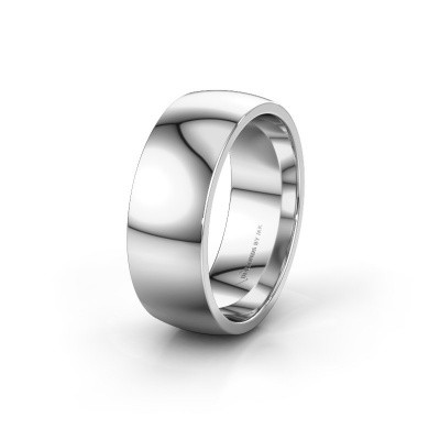 Wedding ring WH0100M28BP 925 silver ±0.31x0.08 in