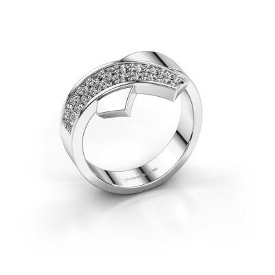 Foto van Ring Ivette 925 zilver lab-grown diamant 0.302 crt