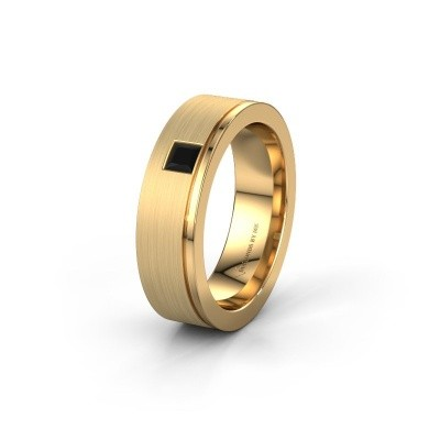 Ehering WH0550L16CMP 585 Gold Schwarz Diamant ±6x2.2 mm