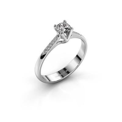 Bague de fiançailles Janna 2 950 platine diamant 0.30 crt