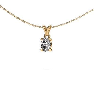 Foto van Ketting Lucy 1 375 goud diamant 0.80 crt