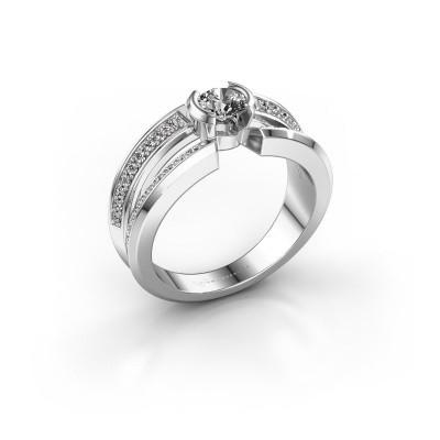 Foto van Heren ring Rowan 375 witgoud diamant 0.50 crt