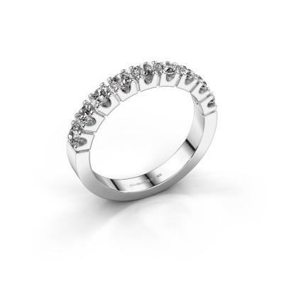 Bague de fiançailles Dana 9 585 or blanc diamant 0.90 crt