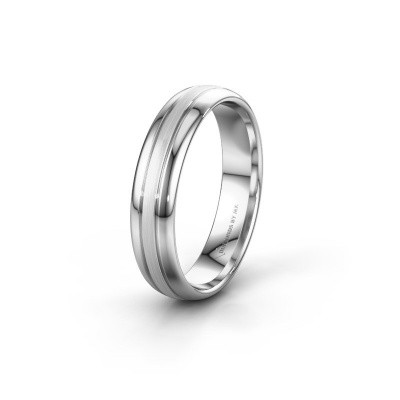 Wedding ring WH0400M35APM 925 silver ±5x1.7 mm