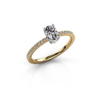Foto van Verlovingsring Lynelle 2 585 goud diamant 0.50 crt