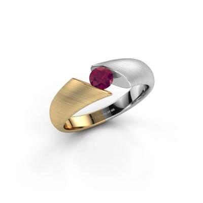 Foto van Ring Hojalien 1 585 goud rhodoliet 4.2 mm