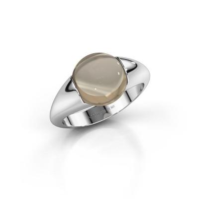 Picture of Ring Robine 375 white gold smokey quartz 10 mm