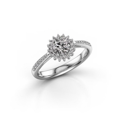Picture of Engagement ring Mariska 2 925 silver lab-grown diamond 0.50 crt