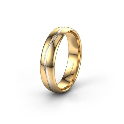 Picture of Wedding ring WH0907M35X 585 gold ±0.20x0.06 in
