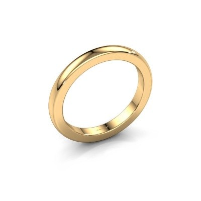 Picture of Stackable ring Astrid 25 mm 585 gold