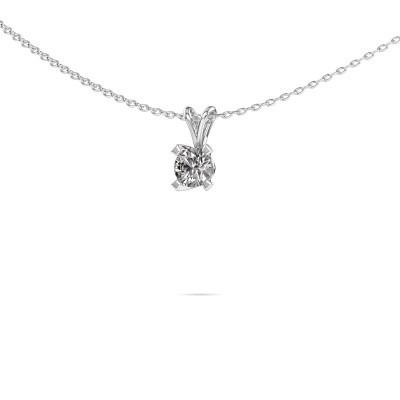 Photo de Pendentif Eva 925 argent diamant 0.25 crt