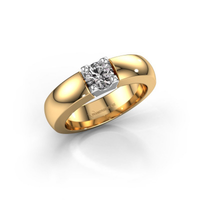 Picture of Engagement ring Rianne 1 585 gold diamond 0.10 crt