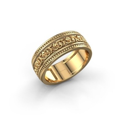 Men's ring Eddo 585 gold