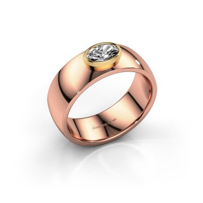 Ring Wilma 1 585 Roségold Diamant 0.50 crt