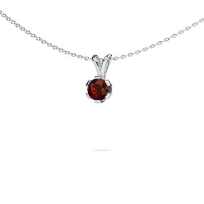 Picture of Necklace Julia 585 white gold garnet 5 mm