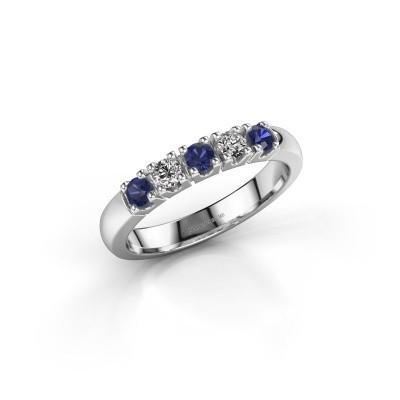 Engagement ring Rianne 5 950 platinum sapphire 2.7 mm