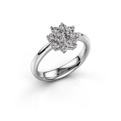 Foto van Verlovingsring Camille 1 950 platina diamant 0.25 crt