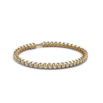 Foto van Tennisarmband Asley 375 goud diamant 4.40 crt