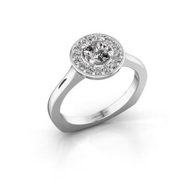 Foto van Ring Kanisha 1 925 zilver zirkonia 5 mm
