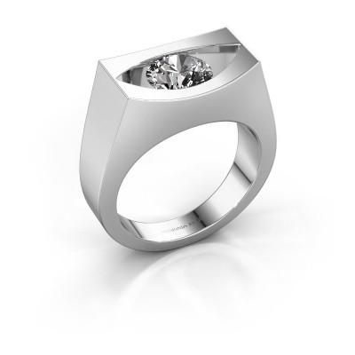 Ring Milou 950 Platin Diamant 1.00 crt