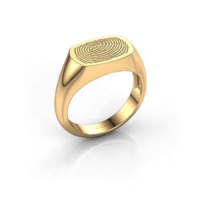 Foto van Heren ring Thijs 585 goud