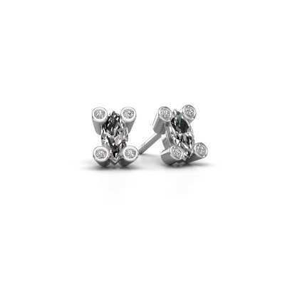 Picture of Stud earrings Cornelia Marquis 925 silver diamond 0.35 crt